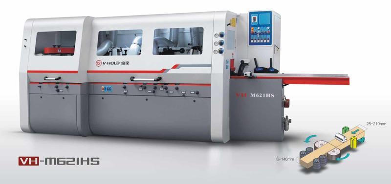 富豪VH-M621HS 多轴横锯剖片机